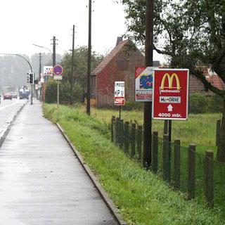 Direction signposting